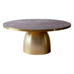 Bethan Gray Large Lustre Coffee Table Salome and Brass