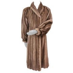 Lutetia mink fur coat size 12-14