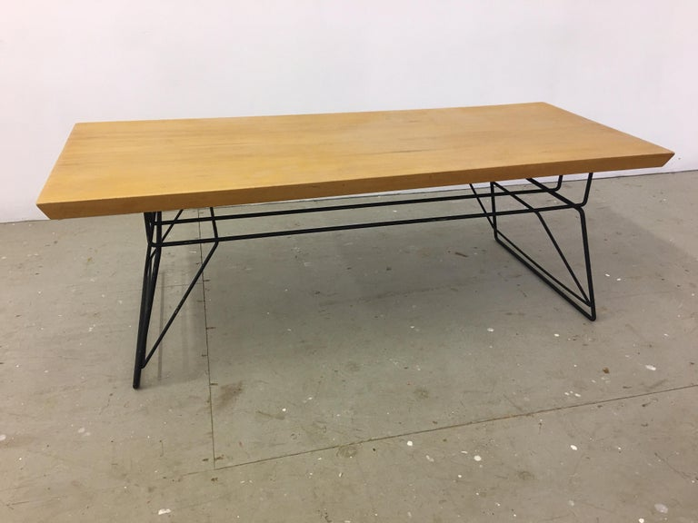 Mid-Century Modern Luther Conover Style Coffee Table For Sale