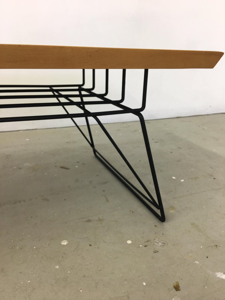 Luther Conover Style Coffee Table In Good Condition For Sale In Philadelphia, PA
