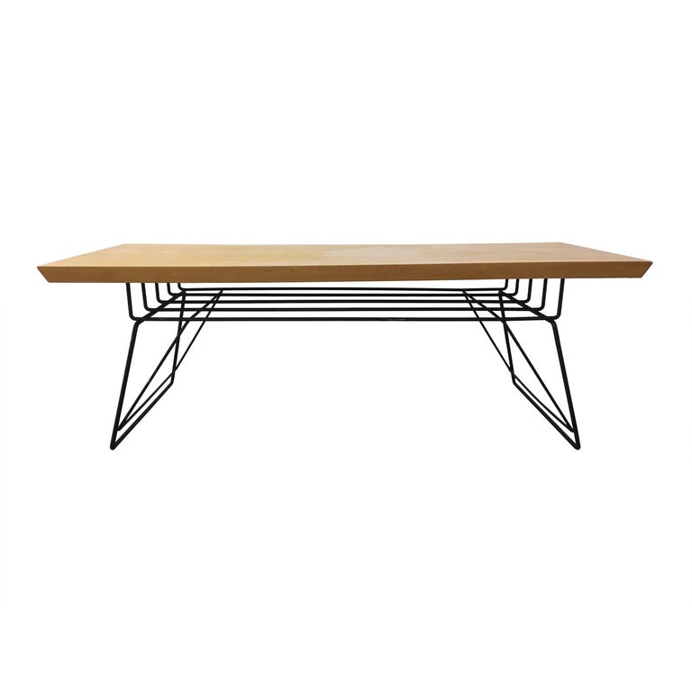 Luther Conover Style Coffee Table For Sale