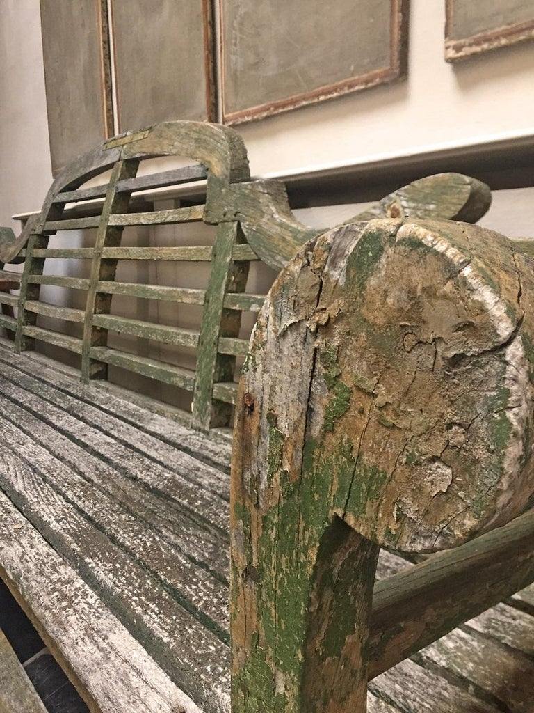 Lutyens Garden Bench, Early 20th Century For Sale 4