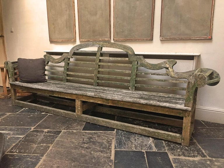 Lutyens Garden Bench, Early 20th Century In Good Condition For Sale In Vosselaar, BE