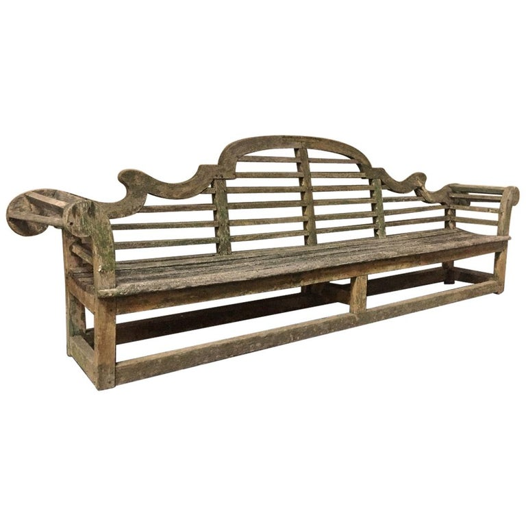 Lutyens Garden Bench, Early 20th Century For Sale