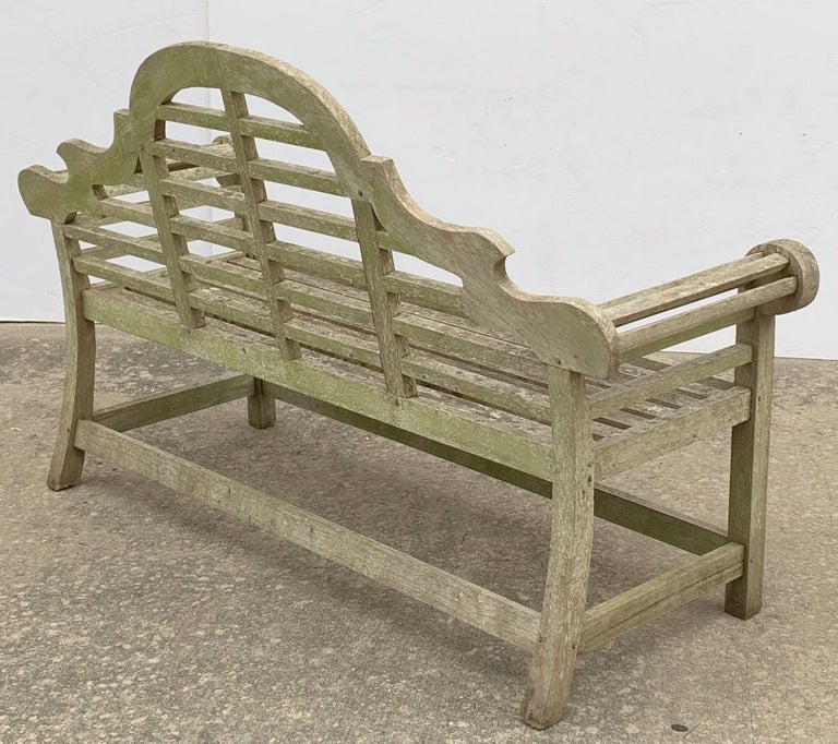 Lutyens Style Teak Garden Bench Seats From England For