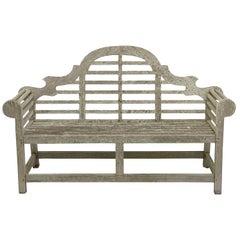 Lutyens Style Teak Garden Bench Seats from England
