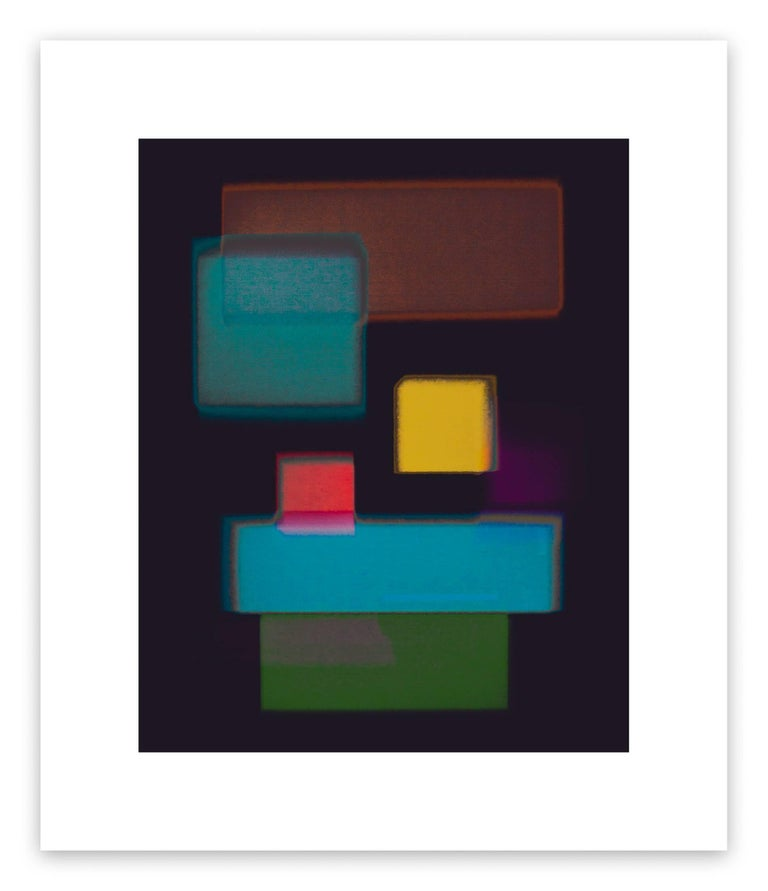 Luuk de Haan Abstract Photograph - Nine Rectangles 1 (Abstract photography)