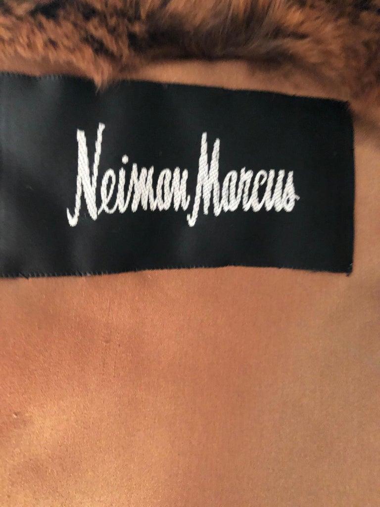 Luxurious Chevron Pattern Chinchilla Jacket from Nieman Marcus by Eric Gaskins 4