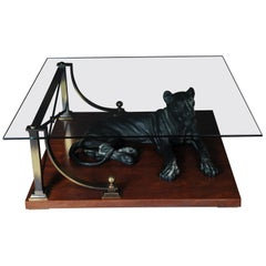 Luxurious Designer Coffee Table Panther