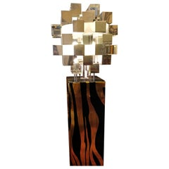 Luxurious Italian Floor Lamp by Antonio Meneghetti, circa 1970