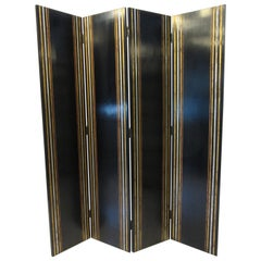 Luxurious Large 4 Panel Screen / Divider by Maitland Smith