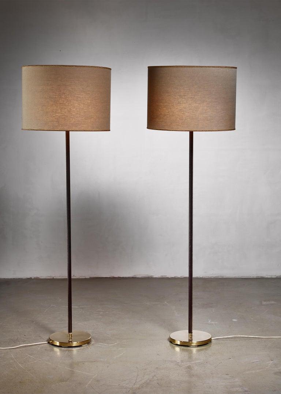 Austrian Luxurious, Minimal Floor Lamp by J.T. Kalmar, Austria, 1960s For Sale