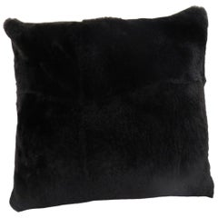 Luxurious Sheared Nutria Throw Pillows