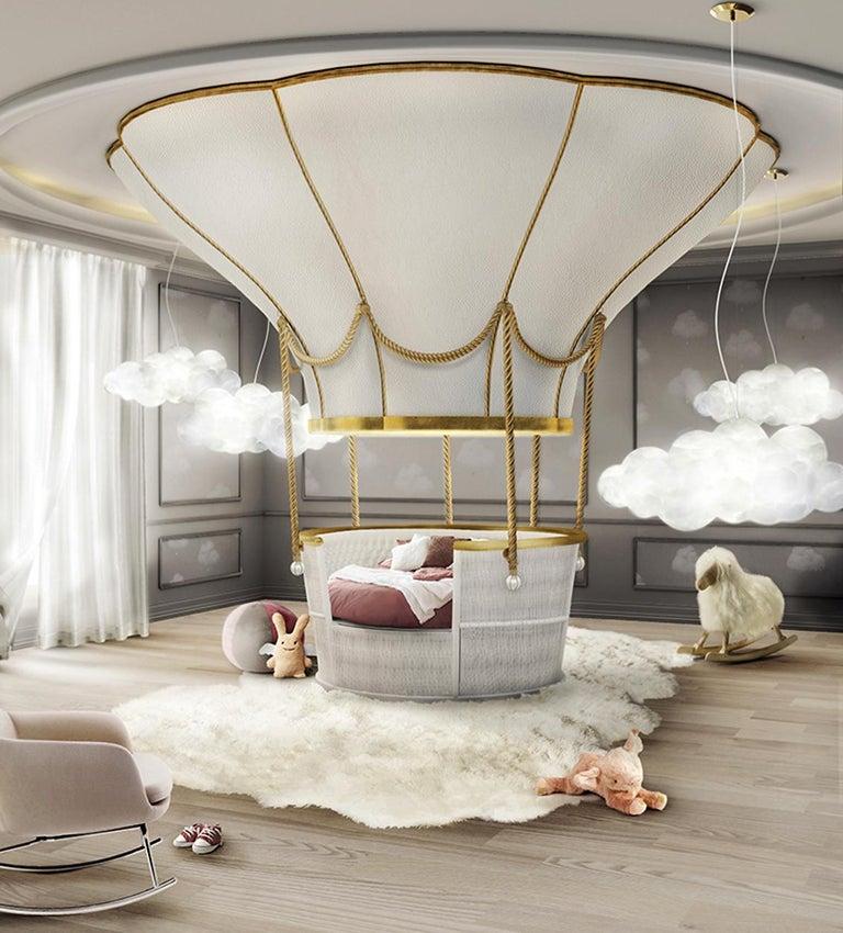 Children Bedroom Basket Crib Bed
