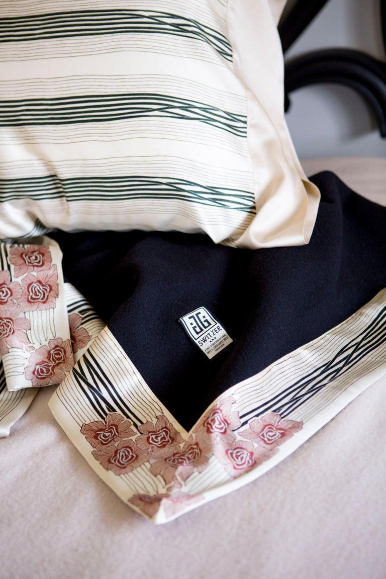 Wool Luxury Cashmere Throw