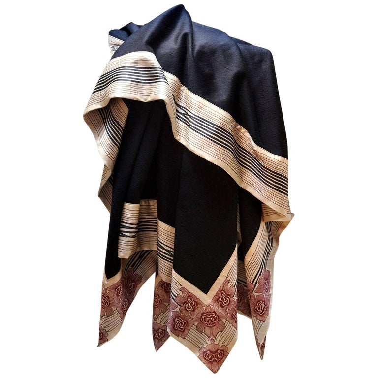 """Luxury Cashmere Throw """"Now Voyager,"""" a Lambswool/Cashmere Blend For Sale"""
