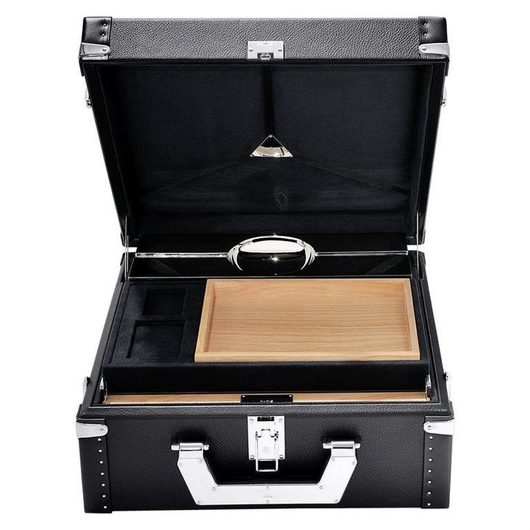 Luxury Cuban Black or Red Suitcase For Sale