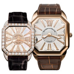 Luxury Diamond Watch Duo for Men and Women - Limited Holiday Offer -20% Discount