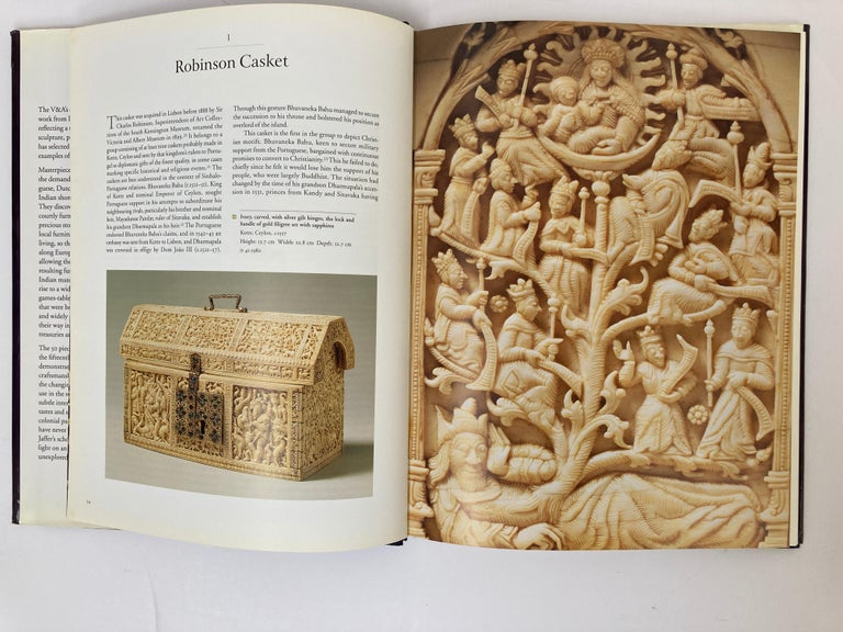 Anglo-Indian Luxury Goods from India The Art of the Indian Cabinet-Maker Hardcover Table Book For Sale