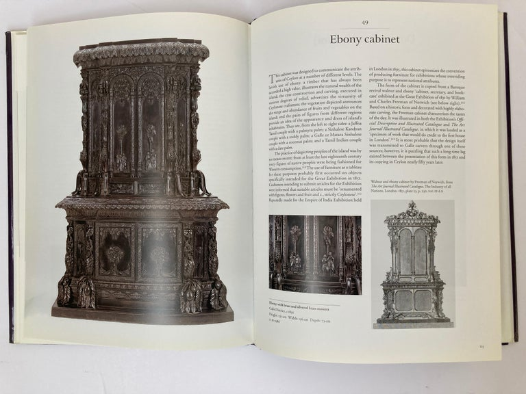 Luxury Goods from India The Art of the Indian Cabinet-Maker Hardcover Table Book In Good Condition For Sale In North Hollywood, CA