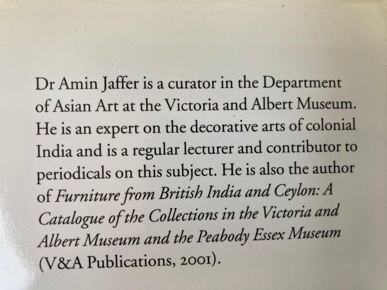 20th Century Luxury Goods from India The Art of the Indian Cabinet-Maker Hardcover Table Book For Sale