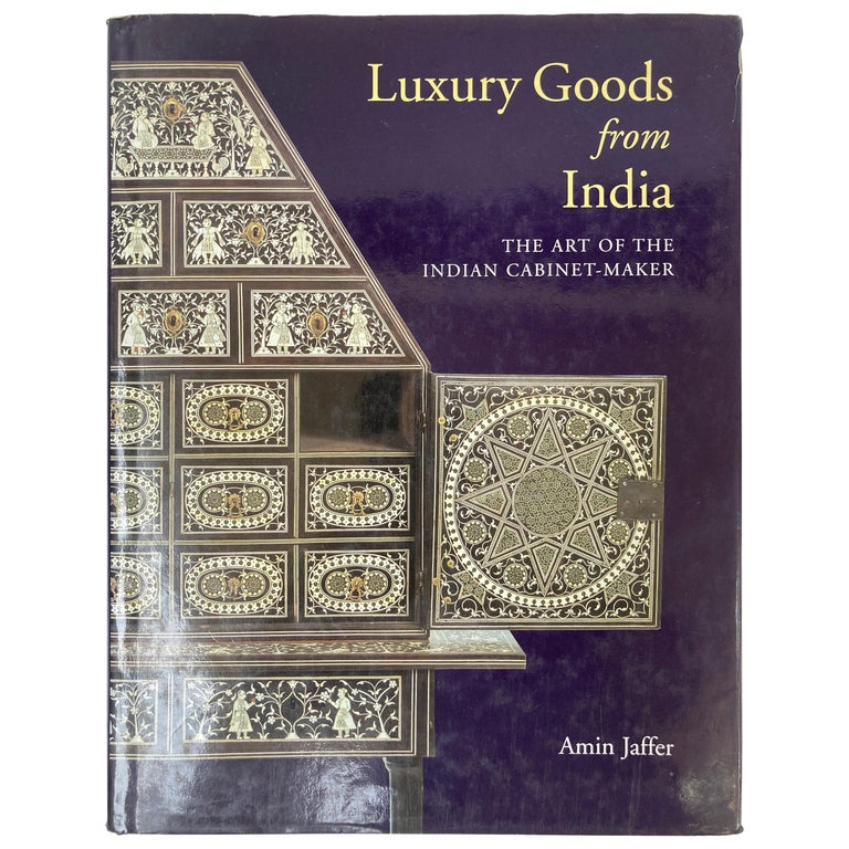 Luxury Goods from India The Art of the Indian Cabinet-Maker Hardcover Table Book For Sale