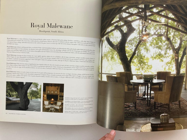 Luxury Hotels Africa Middle East Hardcover Coffee Table Book 6