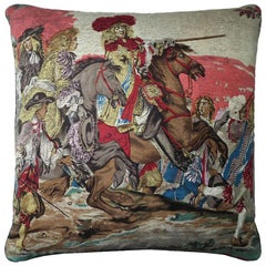 "Luxury Silk Vintage Cushions ""Luigi XIV"" Bespoke pillow - Made in London"