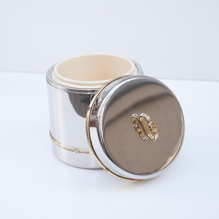 Luxury Vintage Gucci Ice Bucket, 1970 For Sale 2