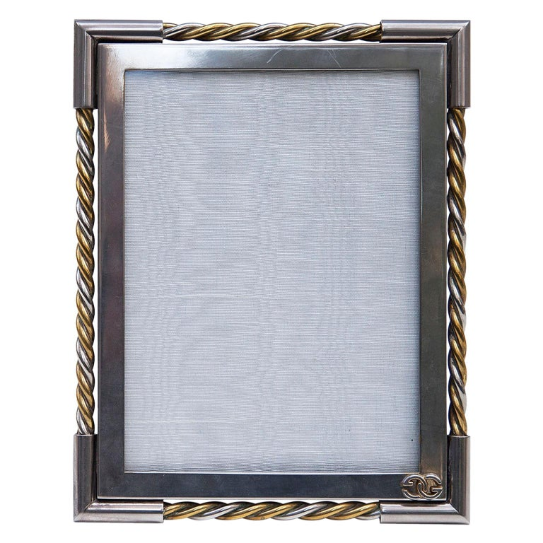 Luxury Vintage Gucci Picture Frame, 1970 For Sale
