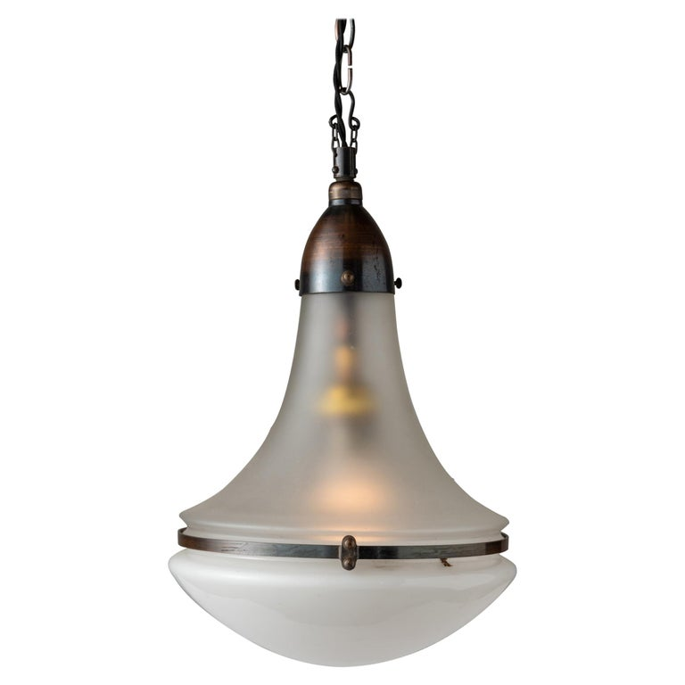 Luzette Pendant by Peter Behrens, Germany, circa 1930 For Sale