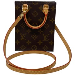 LV Mini Sac Plat Crossbody Bag
