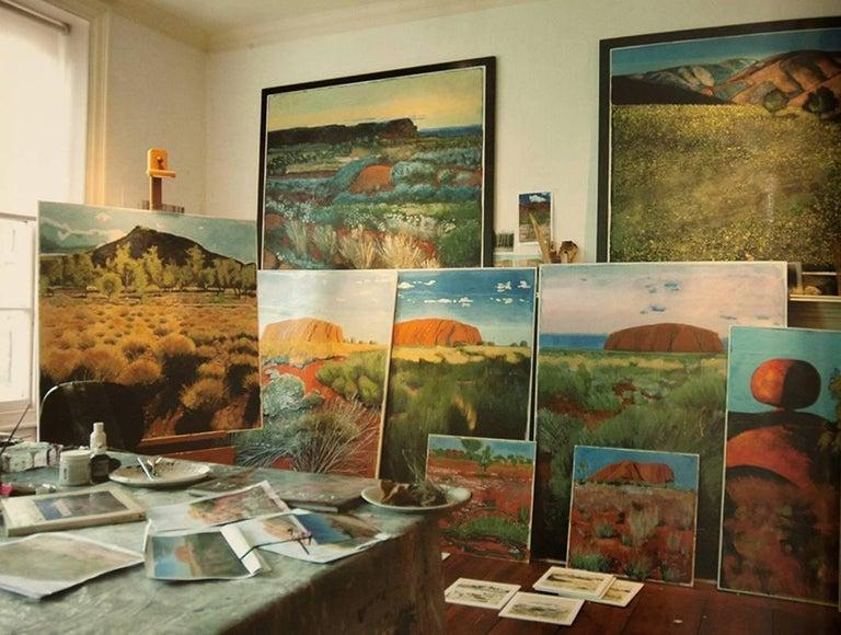 Devil's Marbles, Australia, Contemporary, Original, Oil on Canvas, BBC Reviewer For Sale 2