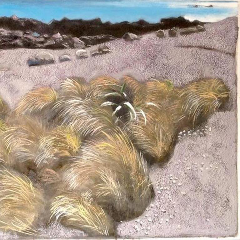 Lake landscape, Original, Landscape, Oil Paint on Panel, Exemplary Art Reviews For Sale 3