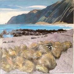 Lake landscape, Original, Landscape, Oil Paint on Panel, Exemplary Art Reviews