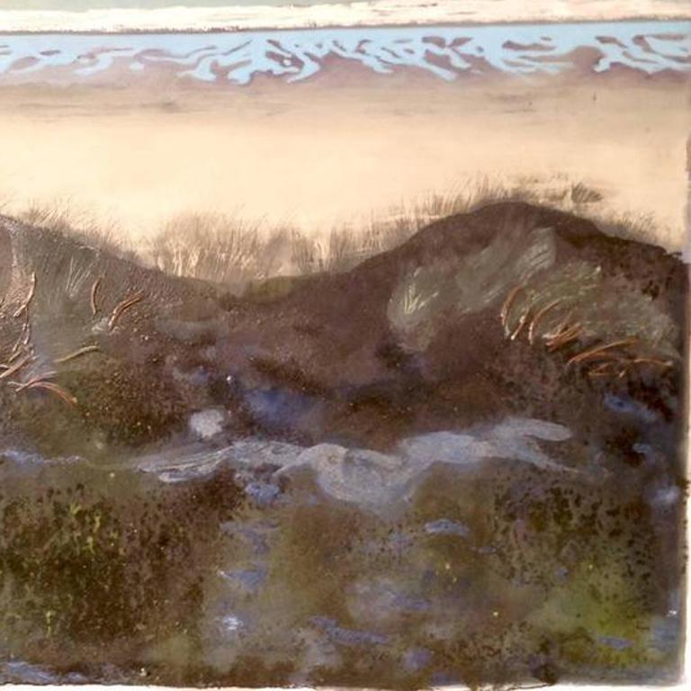 Wellington Bay New Zealand. Oil Paint on Canvas, Original, Excellent Art Reviews For Sale 1