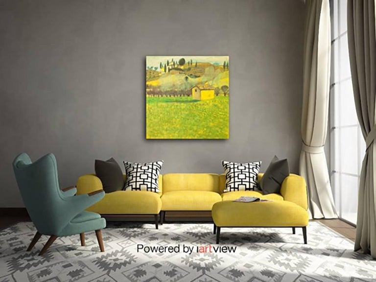 House in Tuscany Original Impressionist style Highly collectable Good Art Review For Sale 5