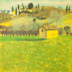 House in Tuscany Original Impressionist style Highly collectable Good Art Review