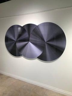 Night Meditations - Infinite wall sculpture by Lyes