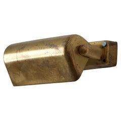Lyfa, Adjustable, Small Wall Light / Sconce, Brass, Denmark, 1950s