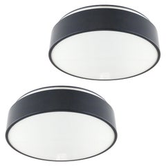 Lyfa Flush Mount Lights, 1972