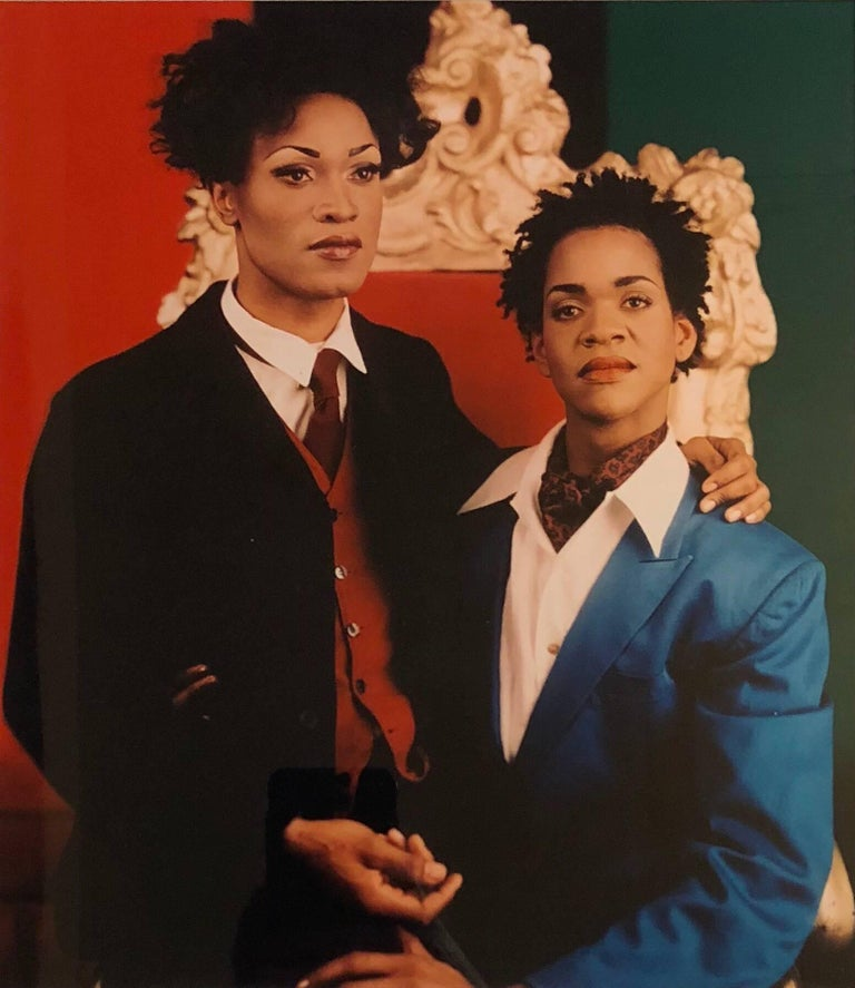 <i>Sisterhood (Portrait of Sister and Brother)</i>, ca. 1994, offered by Lyle Ashton Harris