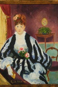 French Impressionist Countess Portrait