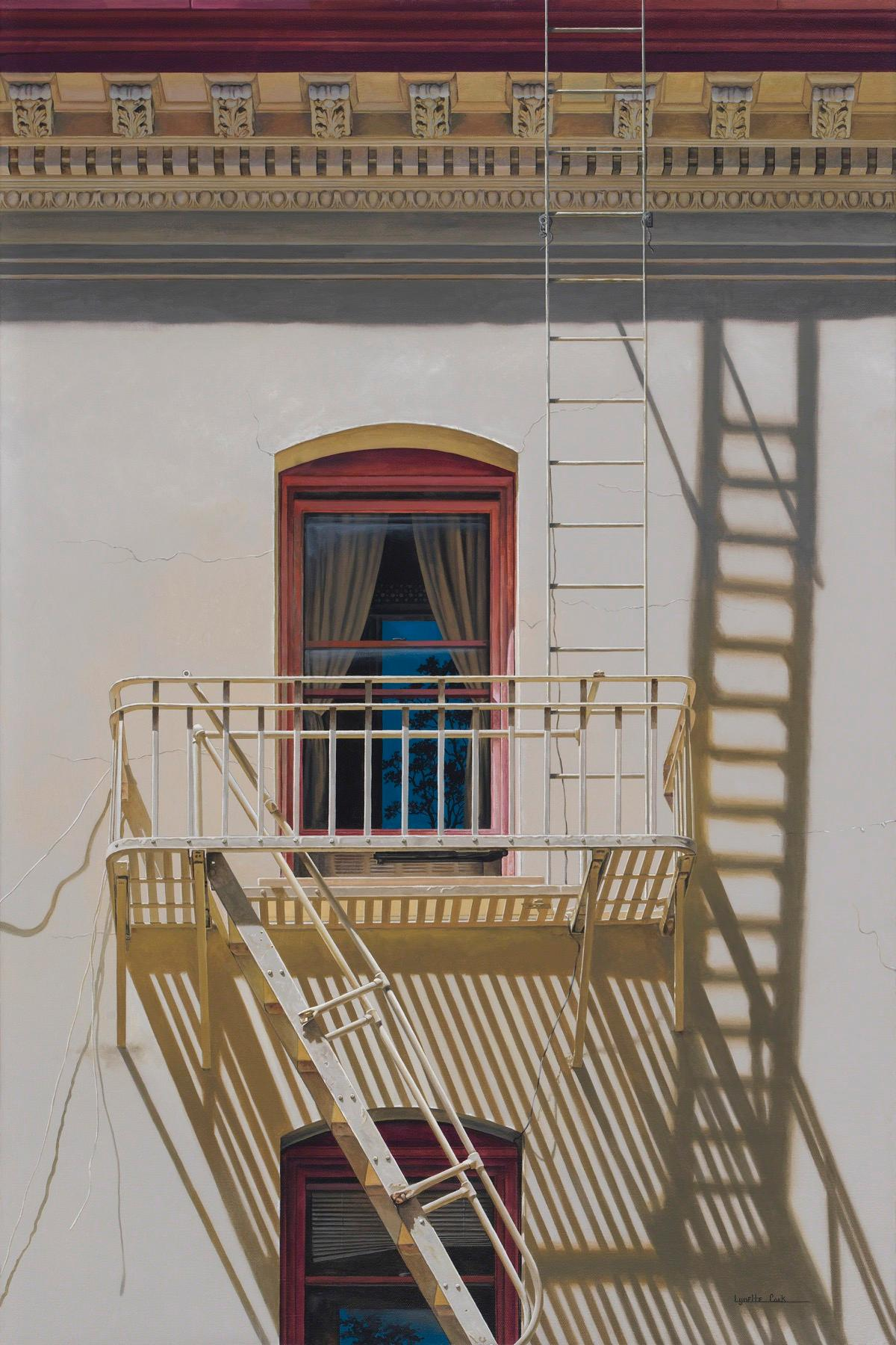 Rise Up / photorealist painting