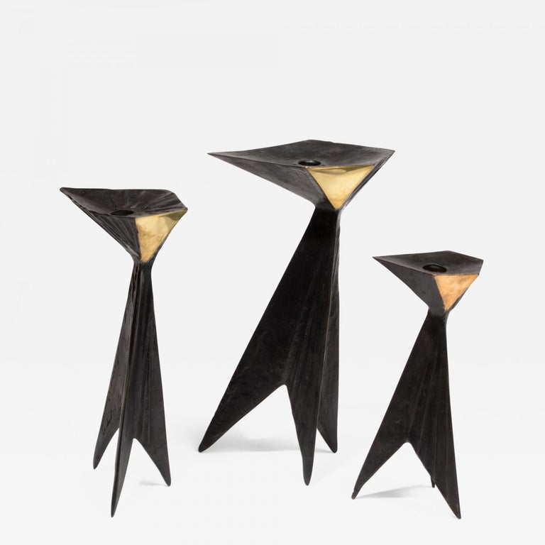 Candle Holders - Sculpture by Lynn Chadwick