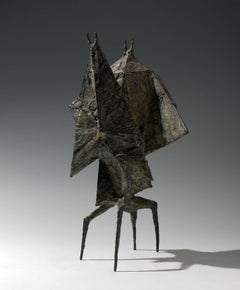 Conjunction V - 20th Century, Bronze, Figurative Sculpture by Lynn Chadwick