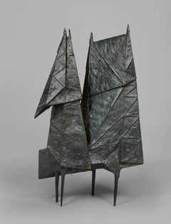 Encounter VI - 20th Century, Bronze, Sculpture by Lynn Chadwick