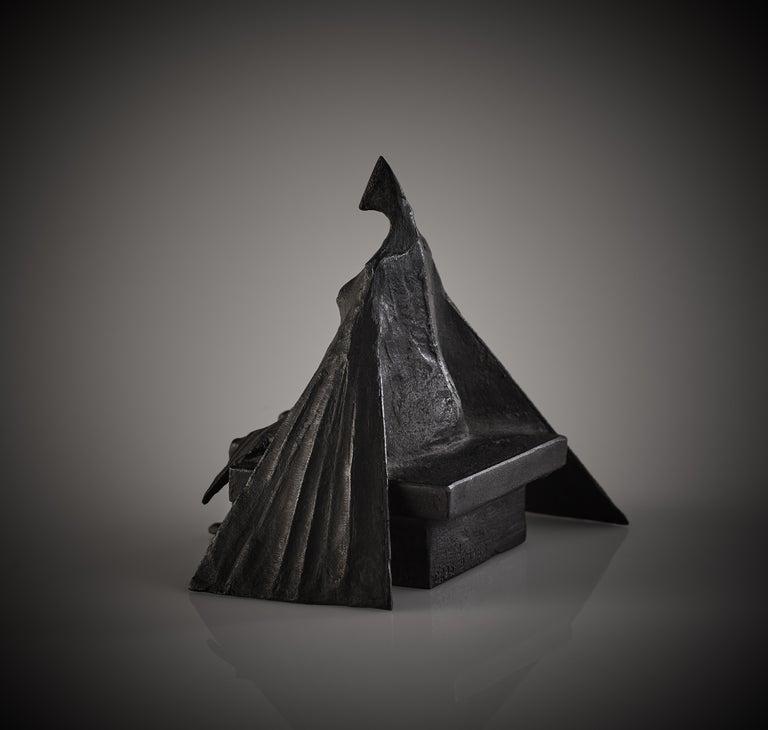 'Sitting Woman II' Original Bronze Figurative Sculpture by Lynn Chadwick For Sale 2