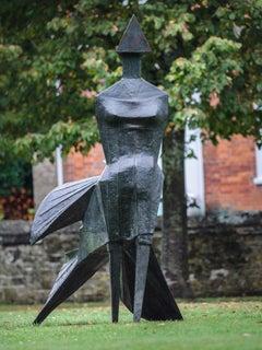 Walking Woman - 20th Century, Bronze, Iconic Sculpture by Lynn Chadwick