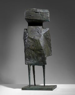 Watcher - 20th Century, Bronze, Sculpture by Lynn Chadwick